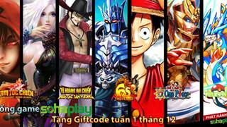 Cổng Webgame SohaPlay tặng giftcode tháng 12