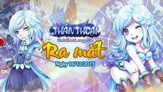 Game Thần Thoại Mobile phát hành tại Việt Nam ngày 16/12