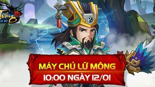 Hổ Tướng Truyền Kỳ khai mở máy chủ Lữ Mông, phát tặng Giftcode