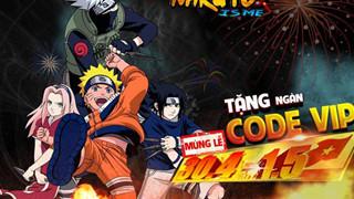SohaPlay tặng 500 Vipcode Naruto is Me nhân dịp 30/04