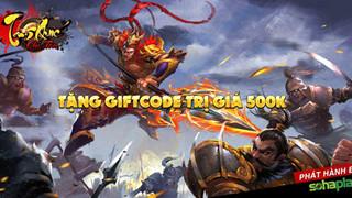 SohaPlay tặng ngay 200 Giftcode Webgame Tam Quốc Chí Tôn
