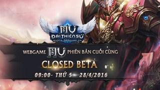 Tặng 500 Gift Code MU Đại Thiên Sứ nhân dịp Closed Beta tại Việt Nam