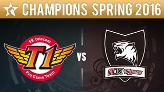 LCK Mùa Hè 2016: SKT trở lại với chiến thắng không thể thuyết phục hơn trước ROX Tigers