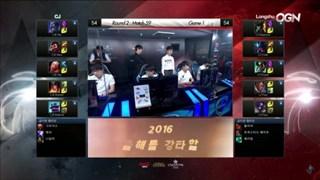 LCK: Longzhu giành chiến thắng trước CJ với tỉ số 2:0