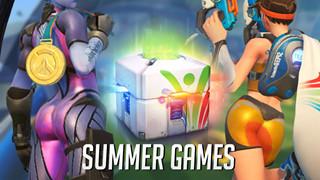 Overwatch: Đợt 2 của sự kiện GIVE AWAY LOOT BOX Summer Games