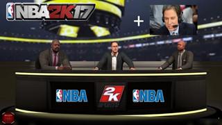 NBA 2K17 xoay vòng đội ngũ bình luận để giữ mọi thứ mới mẻ