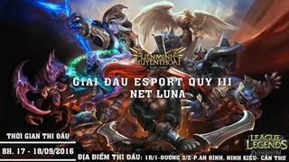 [Live stream] Trận Chung Kết giải đấu Liên Minh Huyền Thoại Luna Net Quý III 2016