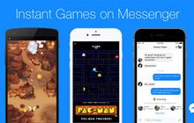 Facebook giới thiệu hàng loạt mini game mới cho ứng dụng Messenger