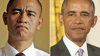 Kiếm hơn 3 tỉ đồng/năm nhờ khuôn mặt giống Tổng thống Obama