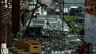 Cận cảnh thành phố trong The Last of Us được dựng lên bằng những mãnh Lego