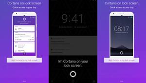 Microsoft sẽ cho phép cài trợ lí ảo Cortana lên màn hình khóa của thiết bị Android