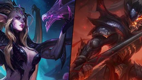 LMHT: Hình đại diện cho Zyra Mẹ Rồng và Xin Zhao Đồ Long chính thức ra mắt