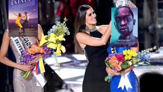 """Cười """"không nhặt được mồm"""" với ảnh chế MC trao nhầm giải cho """"La la land"""" tại Oscar 2017"""