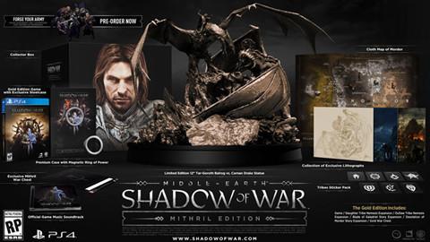Middle Earth: Shadow of War được hé lộ cùng gói Mithril và Gold Edition hấp dẫn
