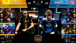 [LCS EU] Vitality Gaming Vs Giant Gaming - Cân tài cân sức