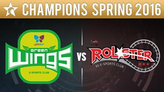 [LCK] JinAir Green Wings vs kt Rolster - Cú lội ngược dòng bất ngờ