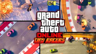 GTA Online hồi sinh game đua xe phong cách cổ điển trong bản cập nhật tiếp theo