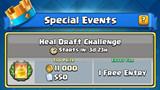 Clash Royale: Chi tiết chế độ Heal Draft Challenge về phần thưởng và cách chơi tổng quát