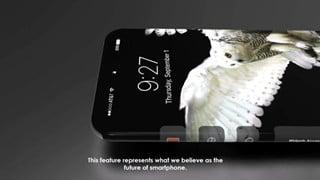 Xem clip mô tả 1 concept lý tưởng cho Iphone 8 sắp ra mắt năm 2017