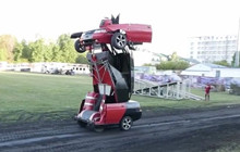 Xuất hiện robot biến hình ngoài đời thực khiến nhiều người cảm thấy tò mò