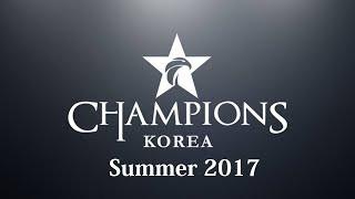 Tổng hợp kết quả các trận đấu LCK hè 2017 diễn ra ngày 31/5/2017