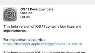 Hướng dẫn tải và cài đặt iOS 11 beta