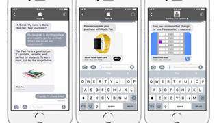 Cạnh tranh với Facebook Messenger, Apple cho phép khách hàng và doanh nghiệp trao đổi trực tiếp trên iMessage