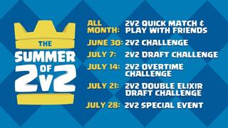 Clash Royale: Bạn đã chuẩn bị cho hàng loạt sự kiện Mùa Hè 2v2 chưa?