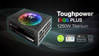 """Thermaltake Toughpower iRGB PLUS 1250W - Nguồn RGB sặc sỡ cho cấu hình """"full - RGB"""" của bạn"""