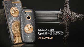 """Đón chào season 7 """"Game of Thrones"""", Caviar ra mắt Nokia 3310 và iPhone 7 phiên bản """"thép valyrian"""", giá chỉ từ 57 triệu"""