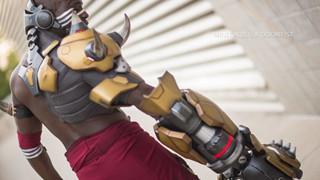 Cosplay Doomfist chính thức của Overwatch ra mắt - Ngầu không thua gì trong game