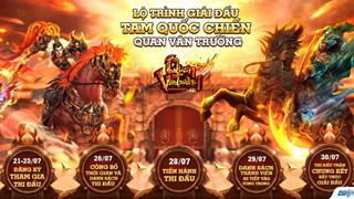 Quan Vân Trường tổ chức giải đấu online đầu tiên mang tên Tam Quốc Chiến
