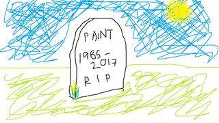 Microsoft có dự định sẽ ngừng hỗ trợ cho Paint sau 32 năm gắn bó