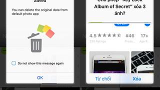 Ẩn và khóa hình ảnh riêng tư trên iPhone vô cùng đơn giản