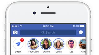 Facebook phiên bản desktop sắp sửa có Stories