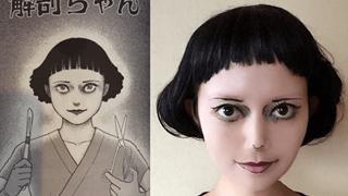 Choáng với cô gái Cosplay truyện kinh dị Nhật Bản đáng sợ không thua gì bản gốc
