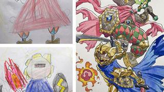 Người bố vẽ lại những bức tranh nguệch ngoạc của con mình thành những tác phẩm tuyệt đẹp