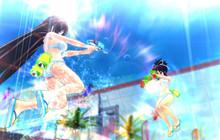 Senran Kagura: Peach Beach Splash - Game toàn hot girl bắn nhau đã ra mắt