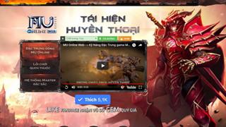 MU Online Web sẽ chính thức ra mắt game thủ vào tháng 10 sắp tới