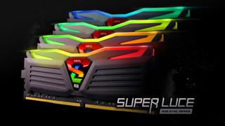 """Geil ra mắt kit RAM Super Luce RGB giá """"mềm"""" cho game thủ"""
