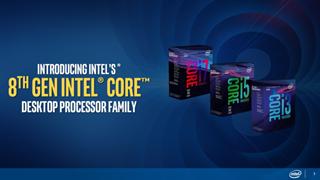 Intel chính thức ra mắt CPU thế hệ thứ 8 Coffee Lake: Nhiều nhân, nhiều luồng và mạnh hơn thế hệ trước