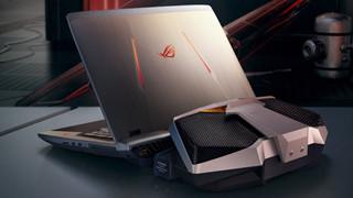 Asus ROG GX800: Laptop chơi game siêu khủng đến từ Asus, dùng tản nhiệt nước, chạy 2 card 1080, giá 155 triệu