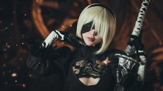 Thêm mộ bộ cosplay 2B tuyệt đẹp trong Nier: Automata