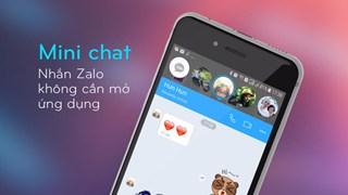 Zalo Mini chat - nhắn Zalo không cần mở ứng dụng