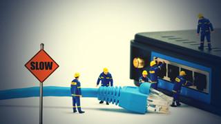 Một số sai lầm khiến cho mạng internet chậm như rùa và chậm hơn nữa khi đứt cáp