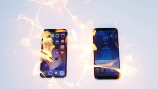"""iPhone X và Galaxy S8 phiên bản """"bốc lửa"""": Kẻ sống sót chỉ có 1"""