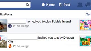 Sau khi cấm xóa status, Facebook xóa tiếp tính năng mời chơi game