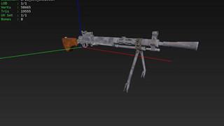 Những mô hình mới của map sa mạc trong PUBG lộ diện, có cả súng máy liên thanh nữa