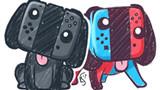 Bộ phụ kiện ngộ nghĩnh biến tay cầm Nintendo Switch thành chú cún con