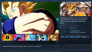 Dragon Ball FigherZ đã xuất hiện trên Steam, hứa hẹn ra mắt vào tháng 1 năm 2018
